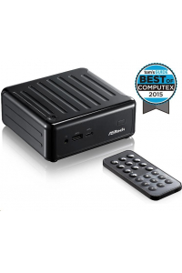 Obrázek pro ASRock Mini PC BEEBOX Intel® Quad-Core Processor J3160-NUC (Barebone), remote controller, black