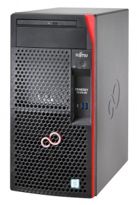 Obrázek pro FUJITSU SRV TX1310M3 - E3-1225v6@3.3GHz, 8GB, DVDRW, 2x1TB, RAID 0,1 on b, 4xBAY3.5 SS, Display port, 250W TOWER