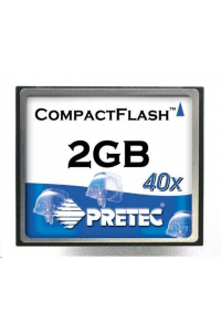 Obrázek pro PRETEC CompactFlash Card 1GB Type I Industrial Series, SLC chips