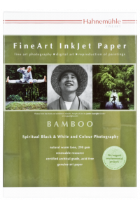 Obrázek pro Hahnemühle Bamboo A 4 290 g, 25 Sheet, natural white