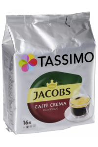 Obrázek pro Jacobs Caffe Crema Classico 16 Kapsul T-Disk