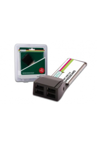 Obrázek pro DIGITUS Serial I/O, 1-Port, ExpressCard Add-On card, 1 X DB9 M, Formfactor 34 PL2303X chipset