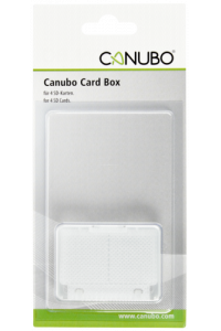 Obrázek pro Canubo SD Card Box transparent for 4 SD Cards