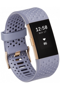 Obrázek pro Fitbit Charge 2 Special Edition small bluegrey/rosegold