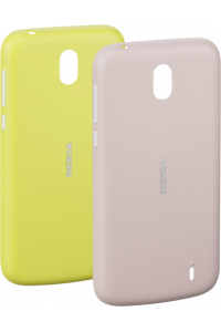 Obrázek pro Nokia X-Press On Cover Dual Pack Pink & Yellow
