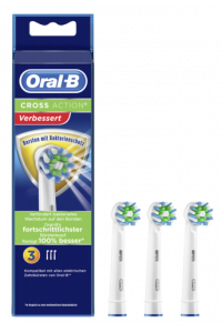 Obrázek pro Braun Oral-B Toothbrush heads Cross Action 3-Pack