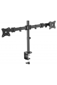Obrázek pro DIGITUS Universal Dual Monitor Stand with clamp mount