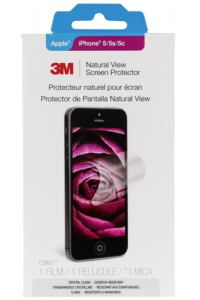 Obrázek pro 3M NV828748 Screen Protector Ultra Clear iPhone 5 5s 5c SE