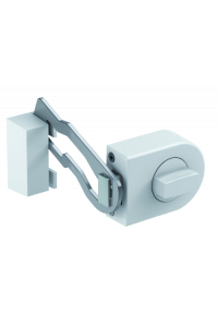 Obrázek pro Olympia RS 50 R white Door Lock with Locking Bar