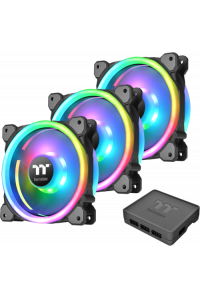 Obrázek pro Thermaltake Case Fans Riing Trio 14 RGB 3 Pack