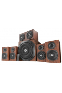 Obrázek pro TRUST Vigor 5.1 Surround Speaker System for pc - brown