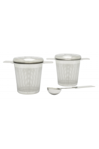 Obrázek pro Bredemeijer Two tea filters with measuring spoon 191003