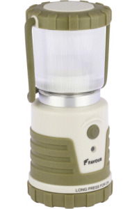 Obrázek pro Favour LED Camping Lantern, dimmable, Candlelight 4xAA