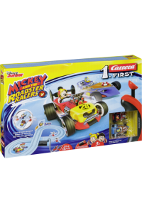 Obrázek pro Carrera FIRST Mickey and the Roadster Racers 2,4 m 20063029