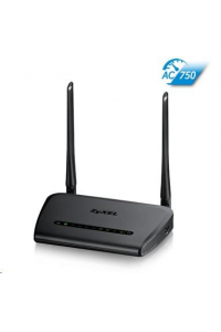 Obrázek pro Zyxel NBG6515 v2 Wireless AC750 Home Router, 4x gigabit RJ45, router/AP/repeater