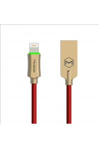 Obrázek pro Mcdodo Knight Series Auto Disconnect Micro USB Cable 1.8m Red