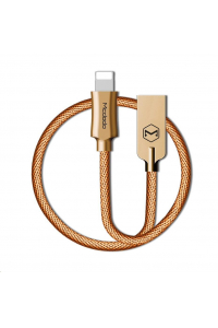 Obrázek pro Mcdodo Knight Series USB AM To Lightning Data Cable (1.8 m) Gold