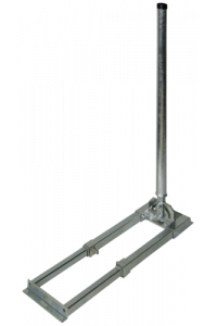 Obrázek pro Doebis Roof Bracket Square Pipe, Height 100cm
