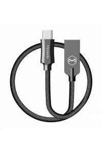 Obrázek pro Mcdodo Knight Series USB AM To Type-C Data Cable (1 m) Black