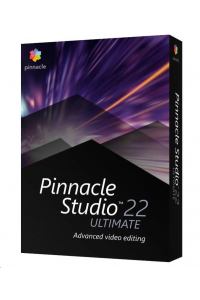 Obrázek pro Pinnacle Studio 23 Ultimate ML EU, EN/CZ/DA/ES/FI/FR/IT/NL/PL/SV, Windows BOX