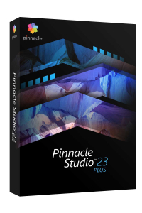 Obrázek pro Pinnacle Studio 23 Plus ML EU, EN/CZ/DA/ES/FI/FR/IT/NL/PL/SV, BOX Windows
