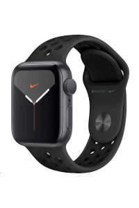 Obrázek pro Apple Watch Nike Series 5 GPS, 44mm Space Grey Aluminium Case with Anthracite/Black Nike Sport Band - S/M & M/L