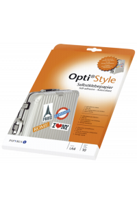 Obrázek pro Opti style Adhesive Paper A 4 10 Sheets
