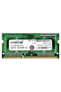Obrázek pro Crucial 4GB DDR3 1600 MT/s CL11 PC3-12800 204pin single ranked