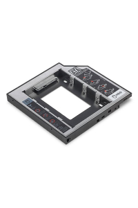 Obrázek pro Digitus 2nd SSD/HDD Caddy SATA to SATA III Supports 2.5 SSD or HDD with SATA I-III, 129x128x12,7 mm