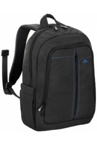 Obrázek pro Rivacase 7560 Backpack 15,6 black Canvas Material