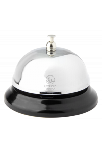 Obrázek pro Leopold Vienna Table Bell Concierge chrome plated LV01569
