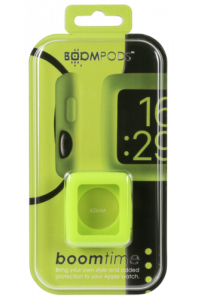 Obrázek pro Boompods Boomtime Silicon Cover for Apple Watch 42mm green