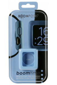 Obrázek pro Boompods Boomtime Silicon Cover for Apple Watch 42mm blue