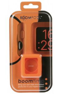 Obrázek pro Boompods Boomtime Silicon Cover for Apple Watch 42mm orange