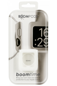 Obrázek pro Boompods Boomtime Silicon Cover for Apple Watch 42mm white