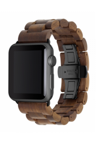 Obrázek pro Woodcessories EcoStrap Apple Watch Band 42mm, walnut black