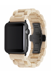 Obrázek pro Woodcessories EcoStrap Apple Watch Band 42mm, maple black