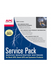 Obrázek pro APC 3 Year Service Pack Extended Warranty (for New product purchases), SP-01