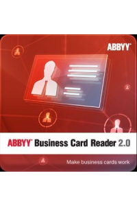 Obrázek pro ABBYY Business Card Reader 2.0 (for Windows)/ESD