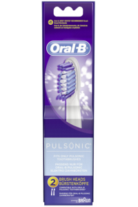 Obrázek pro Braun Oral-B extra brushes Pulsonic 2-parts